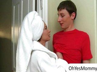 Teen shares boyfriends cock to stepmom