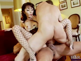 HARMONY Flight of fancy Asian pet Marica Hase Anal DP