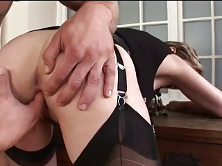 Busty milf plays villeinage games