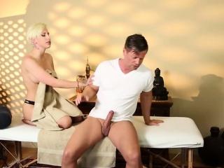 Very tricky spa of graceful masseur