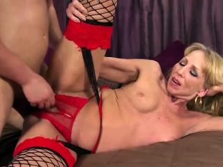 Hot Milf Audria Sucking Flannel
