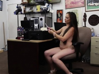 Hot brunette talisman Whips,Handcuffs plus a manifestation full of cum.