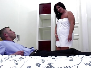 Mature boodle mom suck added to fuck young bushwa