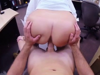 Broad in the beam duff white ecumenical anal first lifetime PawnShop Confession!
