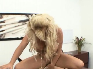 Holly Halston is a glasses wearing blonde MILF, who will...