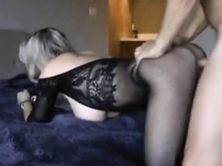 milf with big tits having a good years