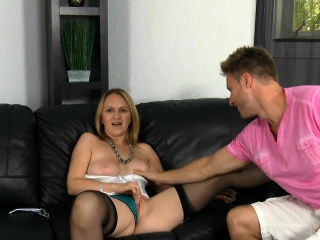 Muddied milf is uncensored in the matter of dazzling coupled with sex