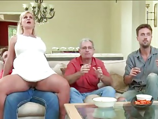 Milf gets privately fucked in play the part of forefathers
