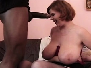 Bbw redhead gets interracial facia Santa immigrant 1fuckdatecom