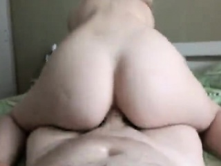 Anal piss, blonde Couple