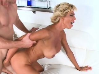 Cougar Lyla Gets Doggystyled By Hung Mailman