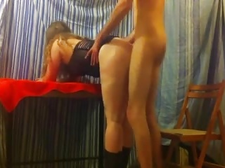 mature lady fucked hard by young man