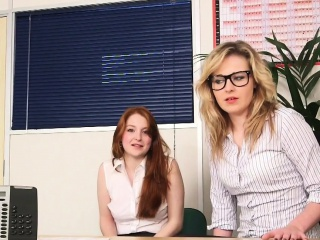 CFNM bodkin femdom squash boss in office