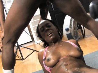 Jazzy Lixx drool all over will not hear of tits