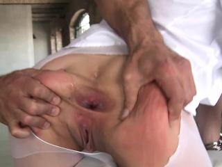 Ass pounded ho facialized