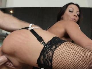Sexy Pierced Big Gut MILF Cookhouse Fucked Rachel Starr