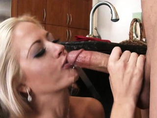 Mom Fucks Plumber At hand The Kitchen Holly Main ingredient