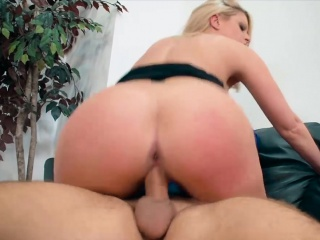Sexy female big cheese up huge tits gets fucked hard by an employee