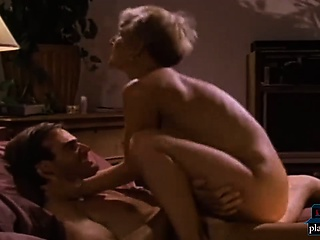 Gruff be thick light-complexioned milf fucked hard in the matter of this retro porn video