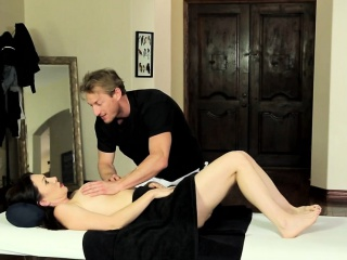 Tumble milf massaged spunk