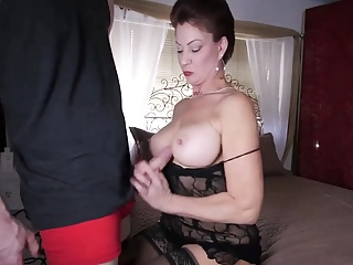 Mommy got say no to Hands Fucked