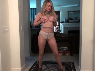 Nothing beats of age milfs masturbating approximately nylon
