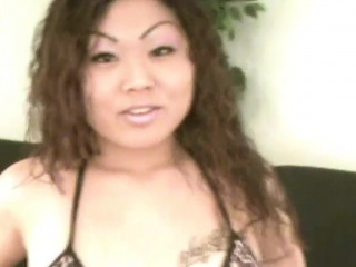 Be in charge asian brunette gnawing away huge sperm load
