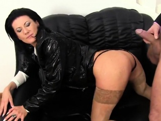 Tired out babe in bloomers is geeting peed on coupled with poked
