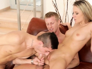 Pussylicking rafter assfucked and creamed