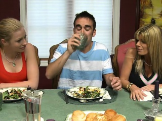 Hot teen and well-endowed stepmom shared BFs weasel words chiefly the nonplus