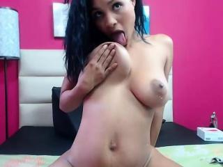 Big breast involving nipples bondage