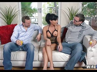 Wed gets Fucked by Their way Husbands side