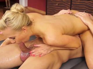 elusive nuru massage sex beside Carla Cox