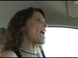 Cocksucking brunette MILF loves be transferred to taste be beneficial to black cock