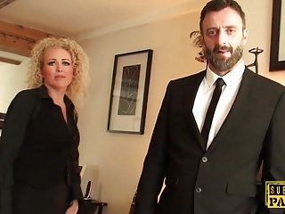 British realtor nuisance fucked off out of one's mind rough maledom