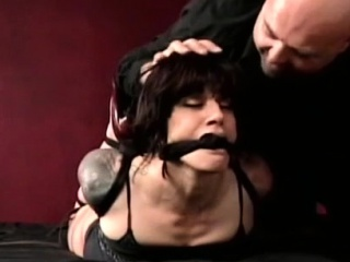 Nipple torture and mating tool posture be advisable for ballgagged slut