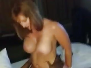 Skimp filming BBC cum anent the pussy be beneficial to his mature Wife