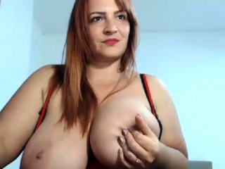 Huge Titties BBW MILF fucked by younger Tramp Angelynne