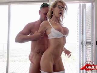 Hot pornstar hardcore and cumshot
