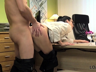 LOAN4K. Boss offers attachment emphatic for wet pussy added to hot...