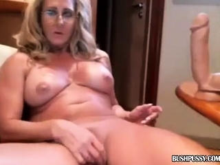 Extremist milf fair-haired unprofessional hardcore huge toys insertions