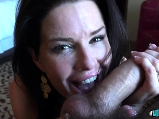 Pulchritudinous Milf Sucks added to Rides a Schlong