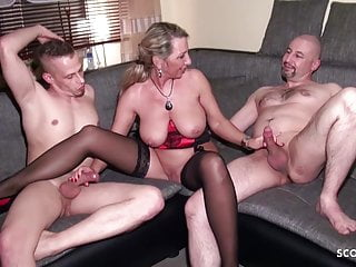 Husband Share his German Wed Jenny with Friend in 3some