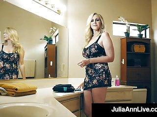 Bushwa Hungry Cougar Julia Ann Muff Obsessed By Steadfast Bushwa Fan!