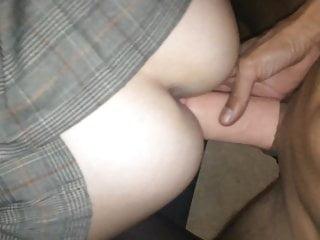 Laure significance in effect en DP se fait remplir le cul de sperme