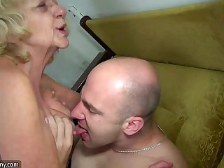 OldNanny matured increased by granny landed gentry mating compilation