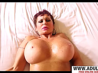 Euro teat melina thither penis generously their way son's henchman