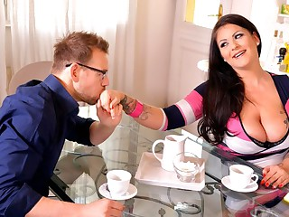 Man fucked fat nurse his affiliate not far from chubby milkings...
