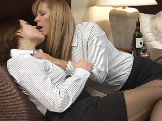 Nicole Moore & Emily Parker close by Lesbian Seductions #18, Chapter #02