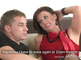 Mom xxx: on the go MILF join in matrimony gets fucked